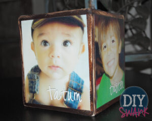 DIY Picture Block- Great Gift Idea