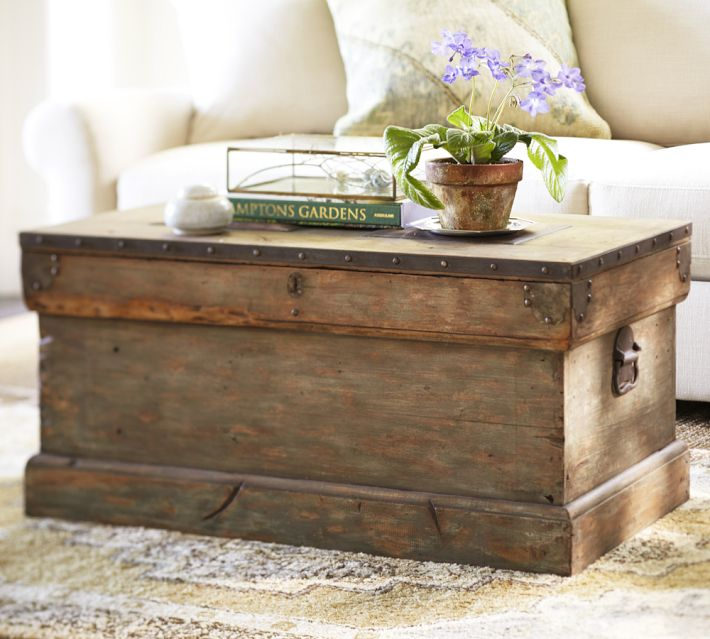 Diy Pottery Barn Inspired Trunk Diy Swank
