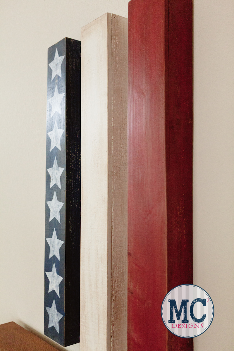 Diy contemporary american flag art diy swank for Diy contemporary art