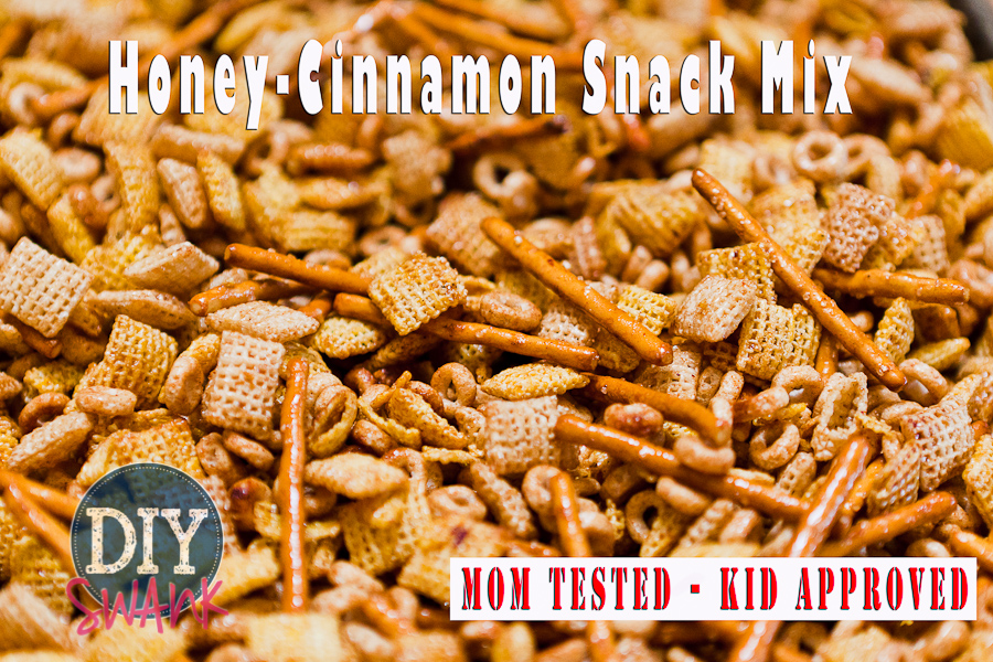 Easy DIY Honey-Cinnamon Snack Mix Recipe
