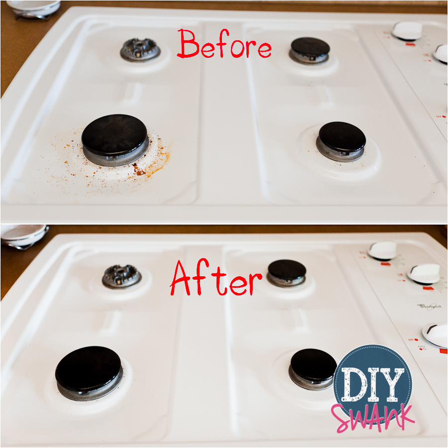 Easy Cooktop Cleaner – DIY Chemical Free Cleaning