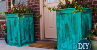 DIY Cedar Planters