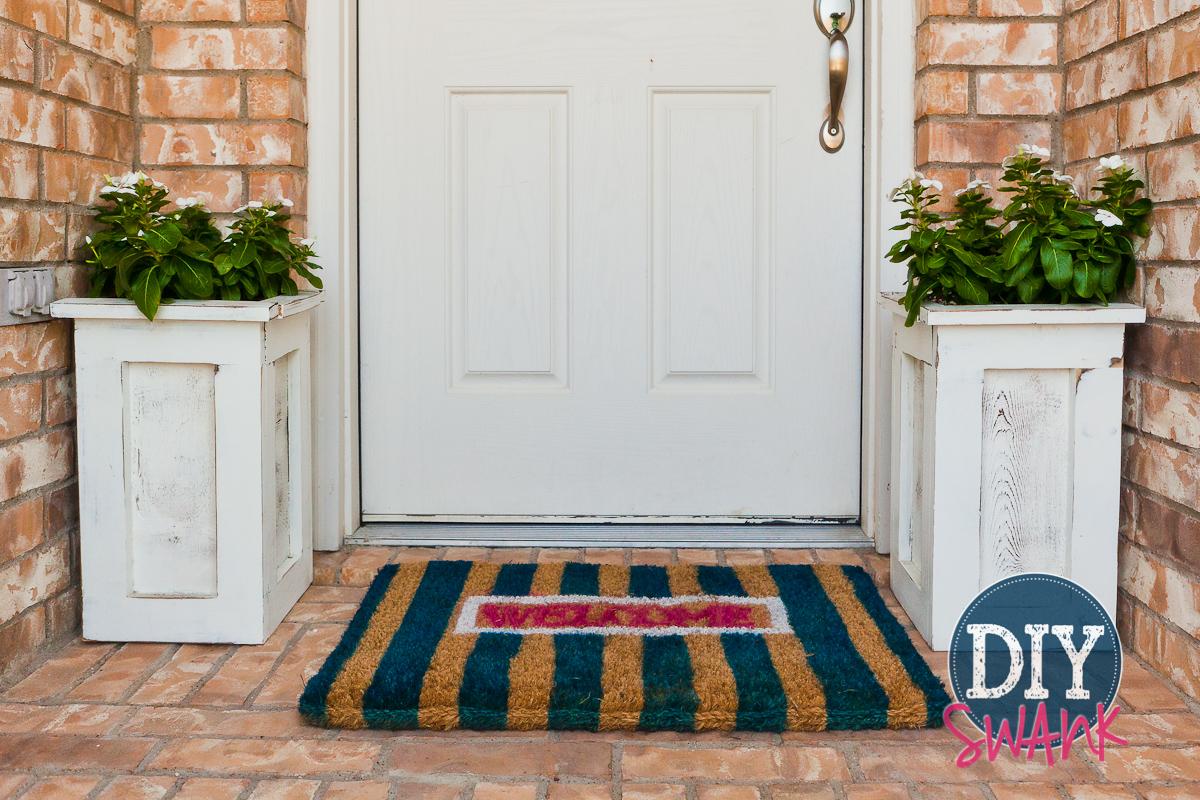My DIY Blunder – DIY Doormats