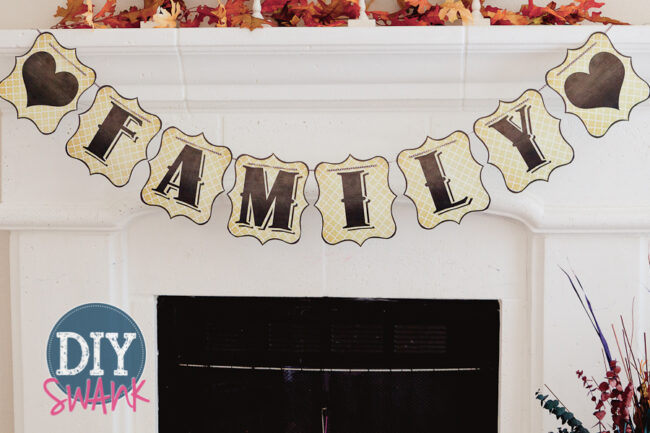 Printable Letters for Banners