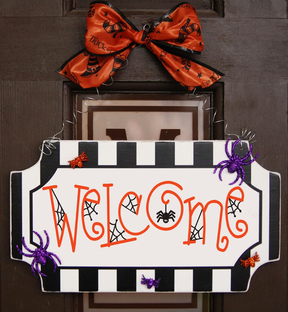 spider welcome sign 4