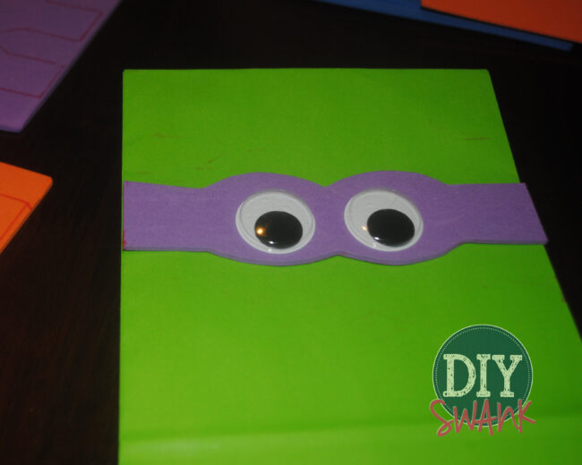 Ninja Turtle Party Bags