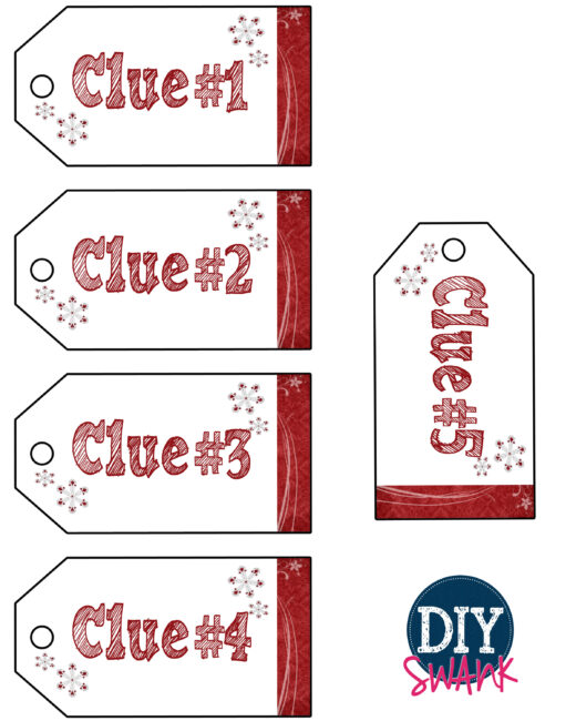 Clue Tags Set