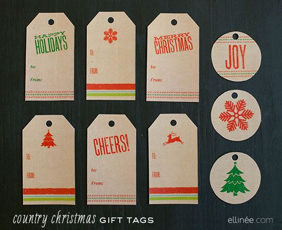 100+ Free Printable Holiday Gift Tags