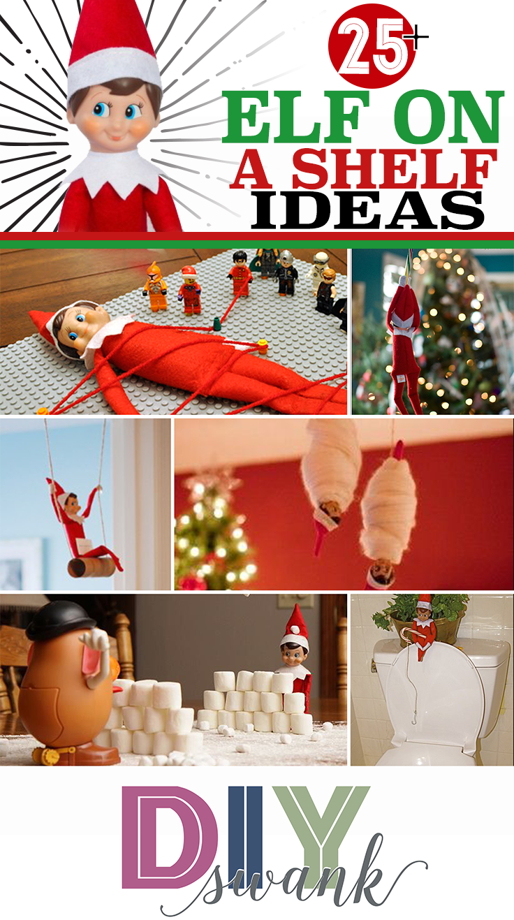 Elf on a Shelf Ideas