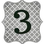Gray_Black Number-3