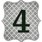 Gray_Black Number-4