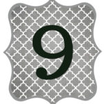Gray_Black Number-9