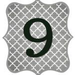 Gray_Black Number-9