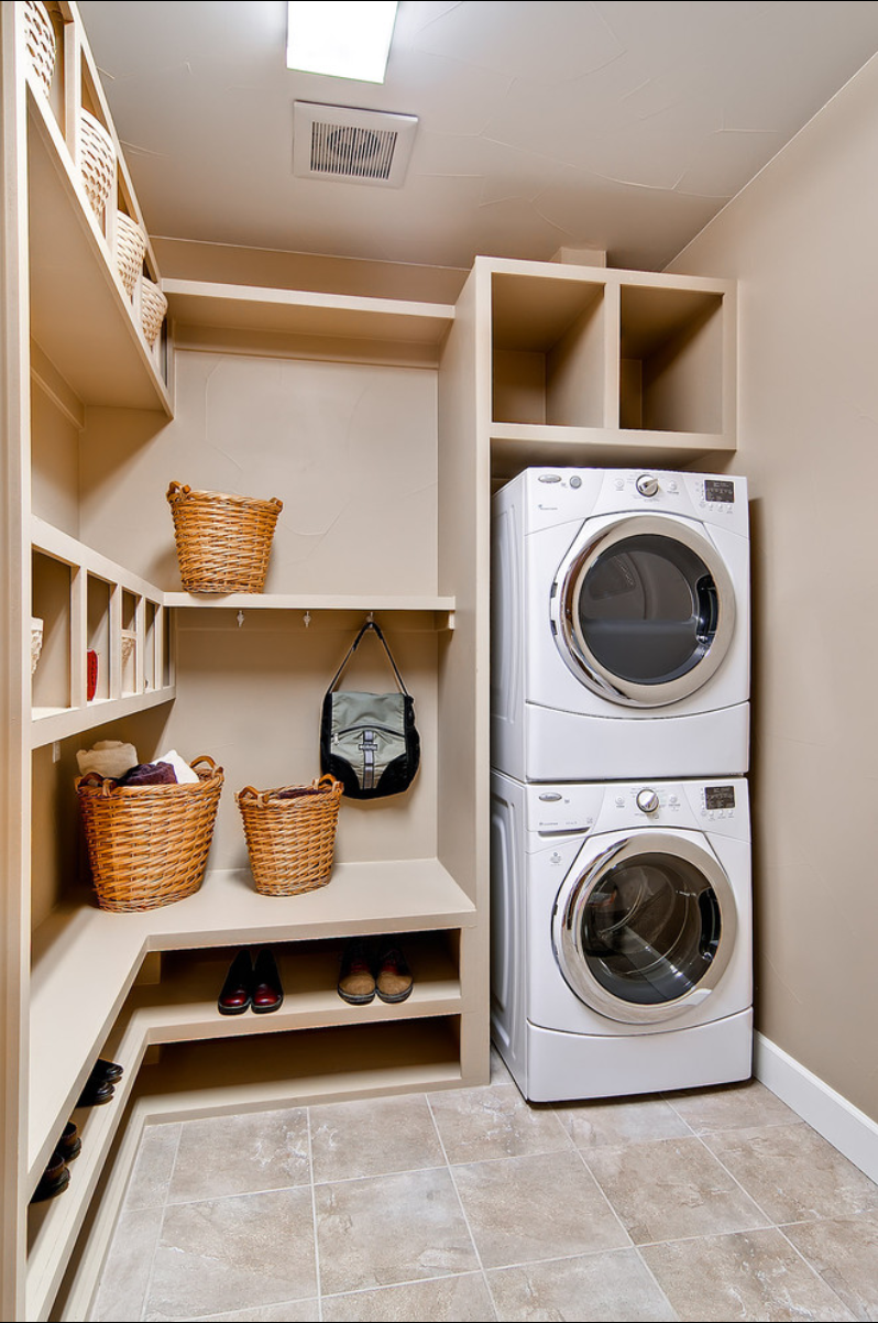 Small Functional Laundry + Mud Room Ideas And Inspiration Part 41