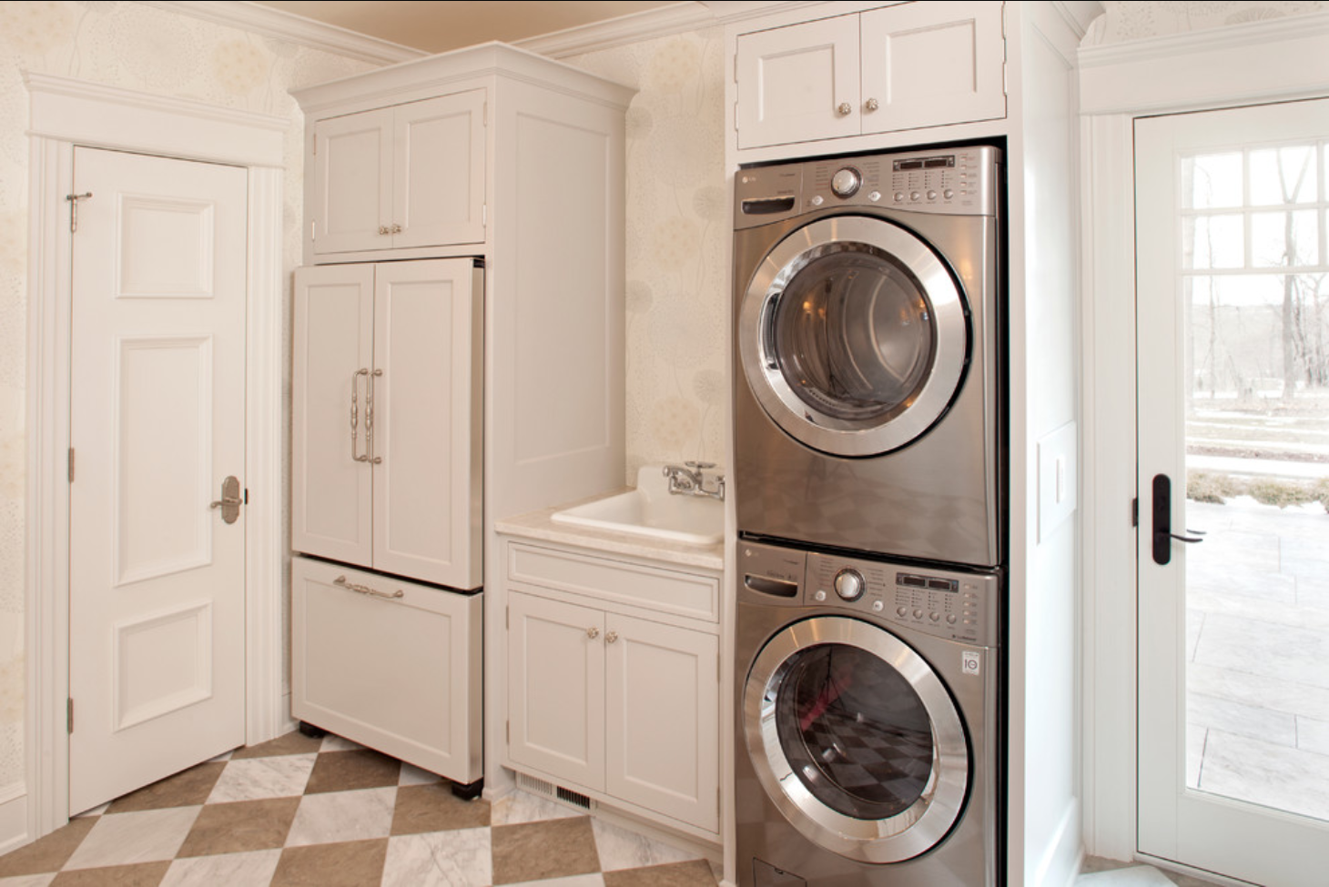 small laundry and mud room inspiration | diy swank
