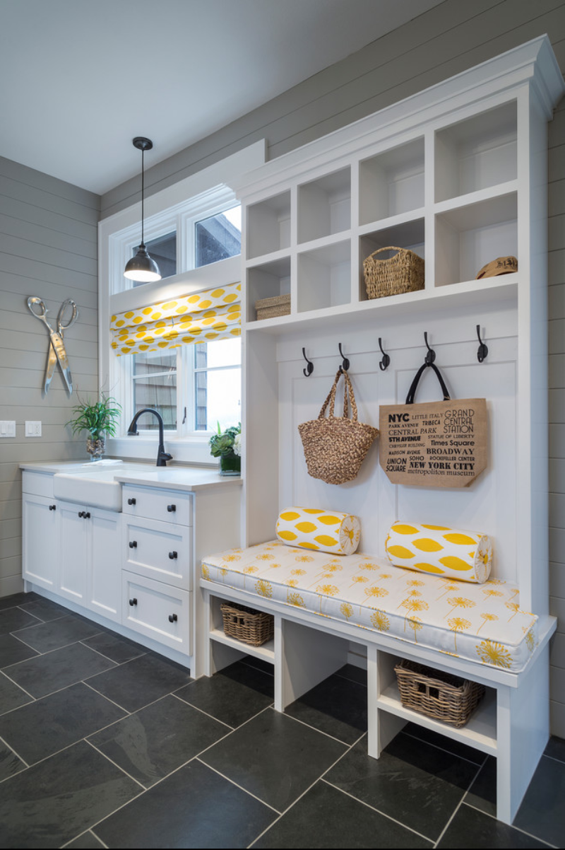 Small laundry and mud room inspiration diy swank for Kitchen inspiration ideas