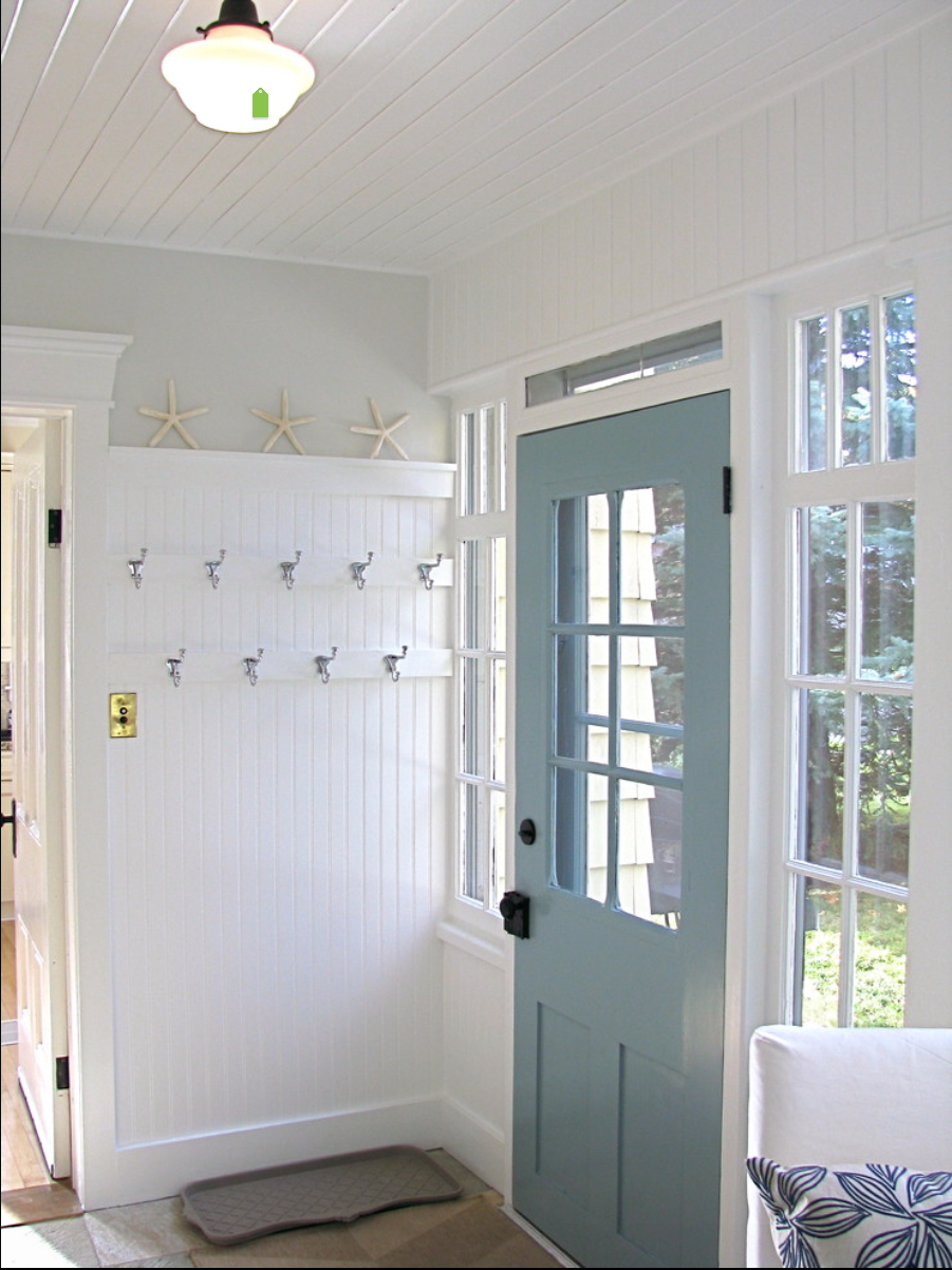 Small laundry and mud room inspiration diy swank for Small entry door