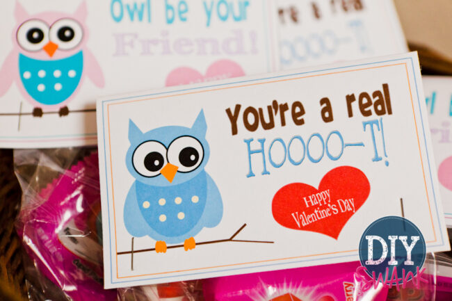 printable valentine candy bag toppers