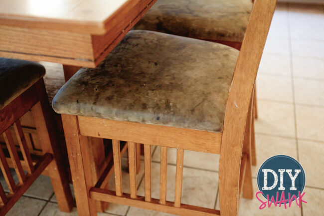 Before and After: Kitchen Table Makeover