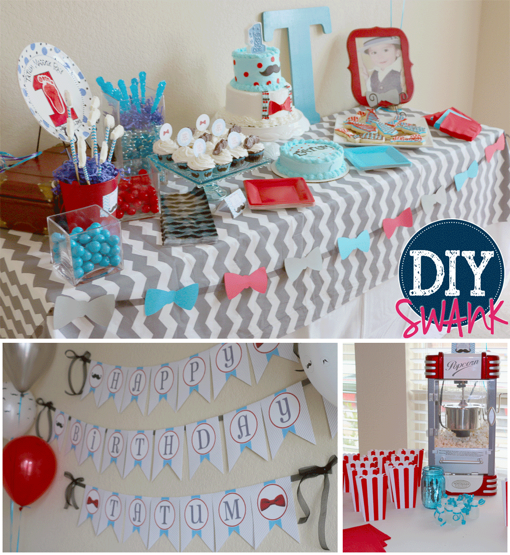Little Man Party Decorations