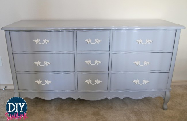 French-Gray-Dresser-Makeover
