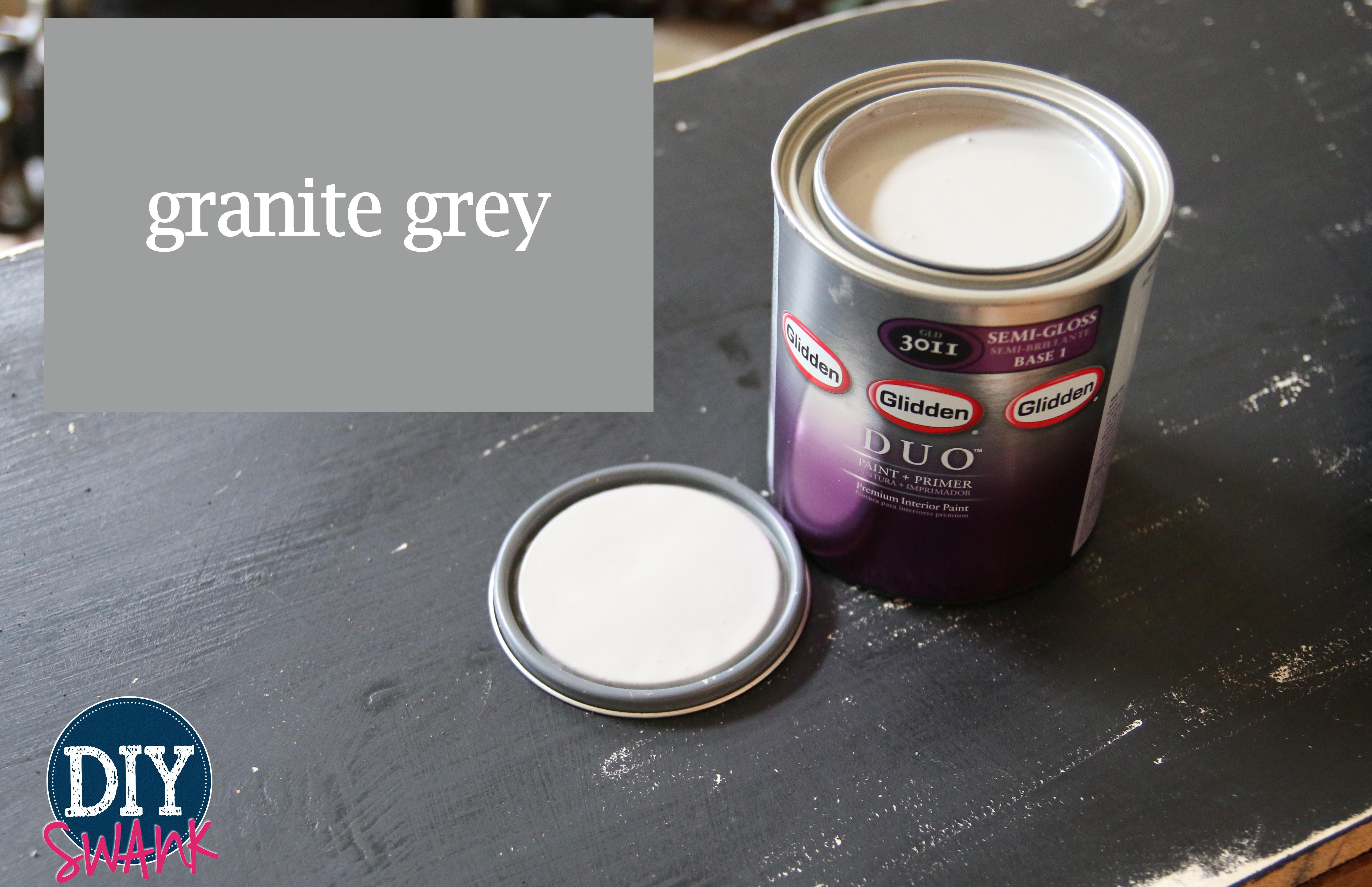Glidden Granite Gray Paint