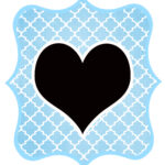 Blue_Black Heart