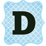 Blue_Black Letter_D