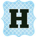 Blue_Black Letter_H