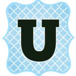 Blue_Black Letter_U