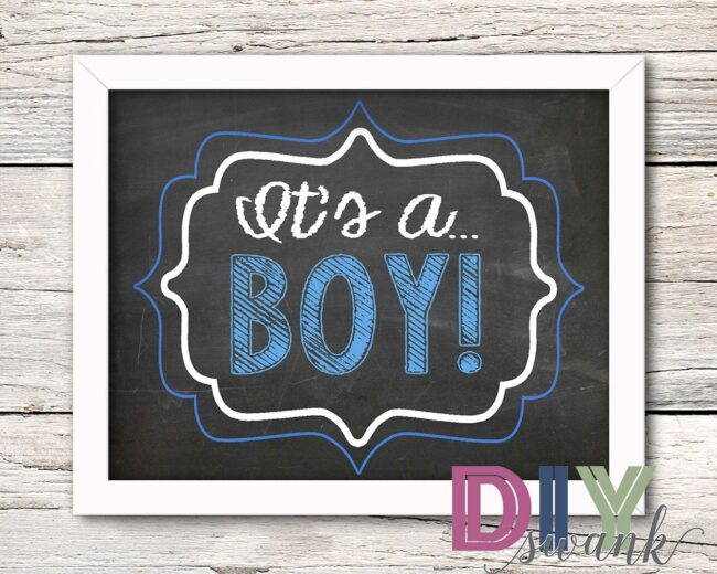 Its a Boy_framed