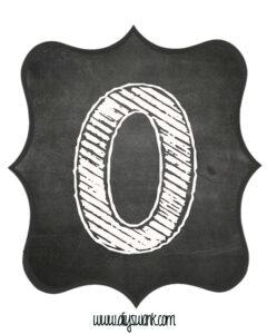 Printable_Chalkboard_ Number_0