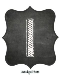 Printable_Chalkboard_ Number_1