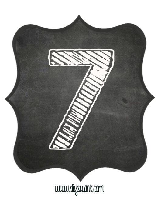 Printable_Chalkboard_ Number_7