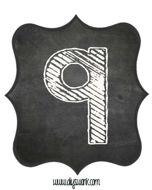 Printable_Chalkboard_ Number_9