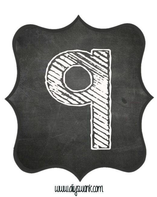 Printable_Chalkboard_ Number_9