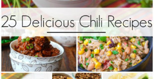 25 Delicious Chili Recipes