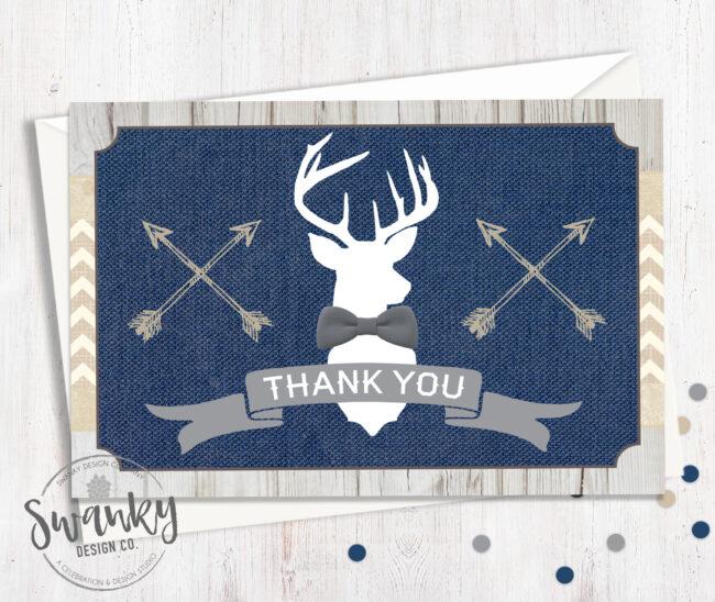 Rustic Deer Baby Shower Theme
