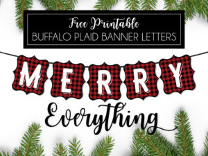 Buffalo-Plaid-Banner-Letters