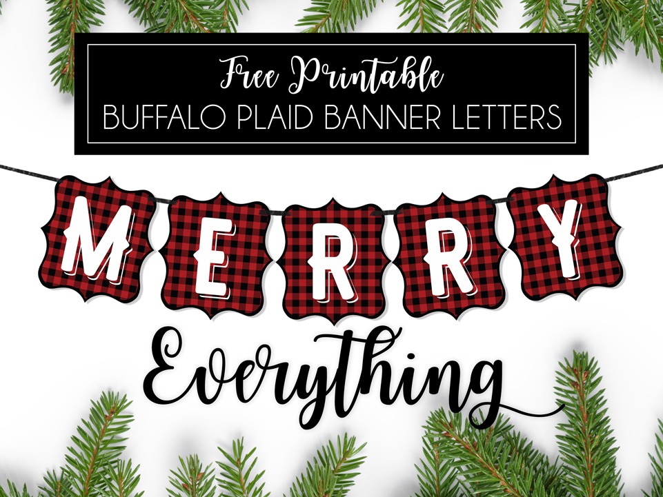 Buffalo-Plaid-Banner-Letters