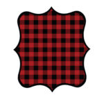 Buffalo Plaid DIY Banner