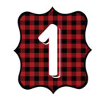 Buffalo Plaid Number 1