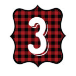Buffalo Plaid Number 3