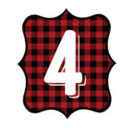 Buffalo Plaid Number 4