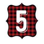 Buffalo Plaid Number 5