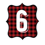 Buffalo Plaid Number 6