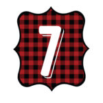 Buffalo Plaid Number 7
