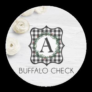 Buffalo Check Banner
